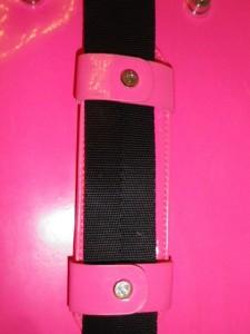 IMGP5552 Lululemon Bright Pink Classy Gym Tote Bag