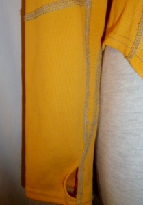IMGP6083 Lululemon Bright Orange Long Sleeve Turkey Trot Running Shirt Top 204