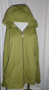 Lululemon Mens Olive Green Hoodie Zippered Jacket 307