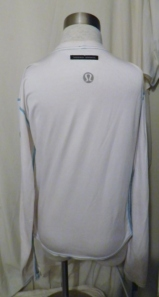IMGP0391 Lululemon White Long Sleeve Running Technical Top Turquoise Threading 330