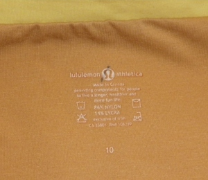 IMGP2775 Lululemon Pale Yellow Whisper Lined Front Crossover Yoga Top 358
