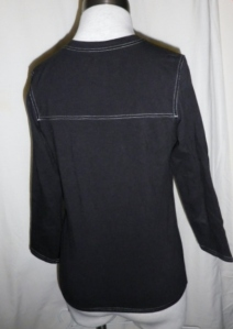 IMGP3918 Lululemon Black V Neck Shirt Top Three Quarter Sleeves 379