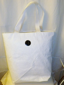 Lululemon Large White Shopping Bag Tote 377