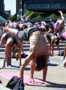 IMGP5645 Lululemon Free Nooner Summer Yoga Class Vancouver Olympic Cauldron Frankie Lavaggi 8