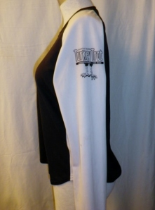 IMGP2435 Lululemon Black White Long Sleeve Turkey Trot Technical Running Shirt Top 423
