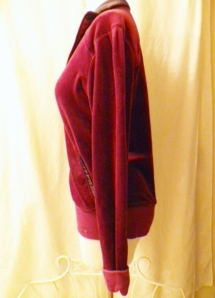 IMGP3110 Lululemon Burgundy Velour Sweatsuit Part One Jacket 451