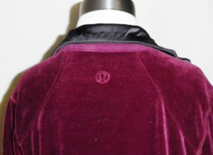 IMGP3116 Lululemon Burgundy Velour Sweatsuit Part One Jacket 451