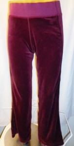 Lululemon Burgundy Velour Sweatsuit Part Two Pants 452