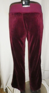 IMGP3125 Lululemon Burgundy Velour Sweatsuit Part Two Pants 452