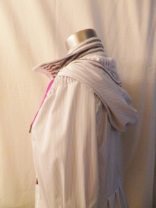 IMGP4786 Lululemon White Grey Striped Zippered Hooded Jacket Pink Ties 443