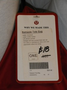 IMGP6712 Lululemon Red Namaste Yoga Mat Tote Bag 491