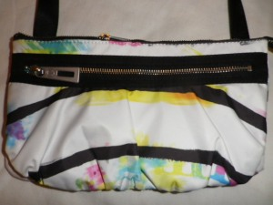 IMGP7997 Lululemon White and Multi Color Fanny Pack Black Belt 526