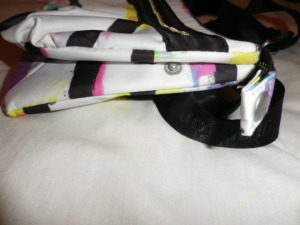 IMGP8001 Lululemon White and Multi Color Fanny Pack Black Belt 526