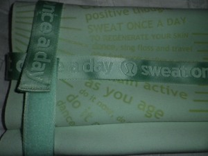 IMGP9796 Lululemon Pale Green The (Towel) Mat Yoga Mat and Strap 575