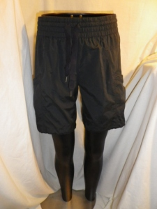 Lululemon Black Shorts with Shirred Tied Waist Band 581