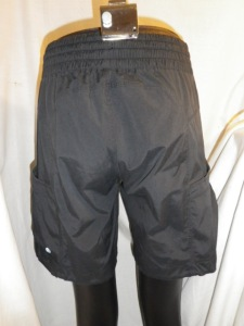 IMGP0451 Lululemon Black Shorts with Shirred Tied Waist Band 581