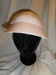 Lululemon Pale Peach Pink Speed Demon Run Hat Cap with Flower Cut Outs 602