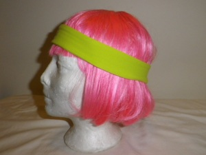 IMGP1611 Lululemon Chartreuse Green Headband with Rubber Backing 605