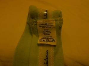 IMGP1613 Lululemon Chartreuse Green Headband with Rubber Backing 605