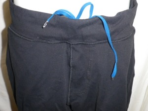 IMGP2468 Lululemon Mens Black Drawstring Lined Shorts 624