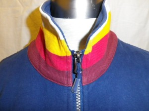IMGP2493 Lululemon Blue Zippered Fleece Jacket Multi Color White Yellow Pink Burgundy Collar 629